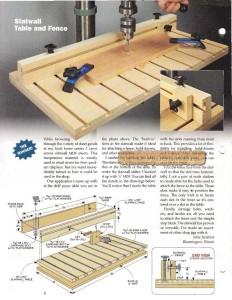 стол для сверлильного станка