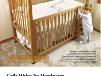 изготовление детской кроватки
