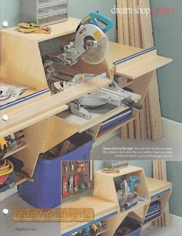 Как сделать стол для торцовочной пилы
